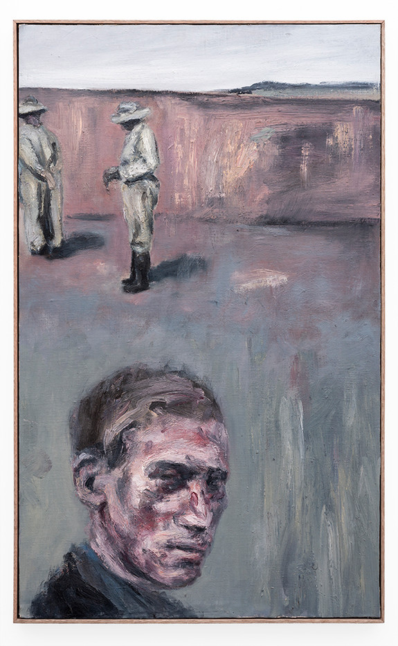 Johann Louw | Knersvlakte - Portret 2 | 2019 | Oil, Mounted Canvas on Panel | 122 x 74.5 cm