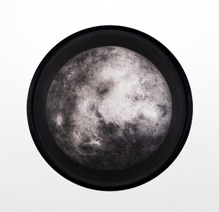 Ernst van der Wal | Untitled | 2019 | Indian Ink and Charcoal Dust on Fabriano Paper | 63 x 63 cm