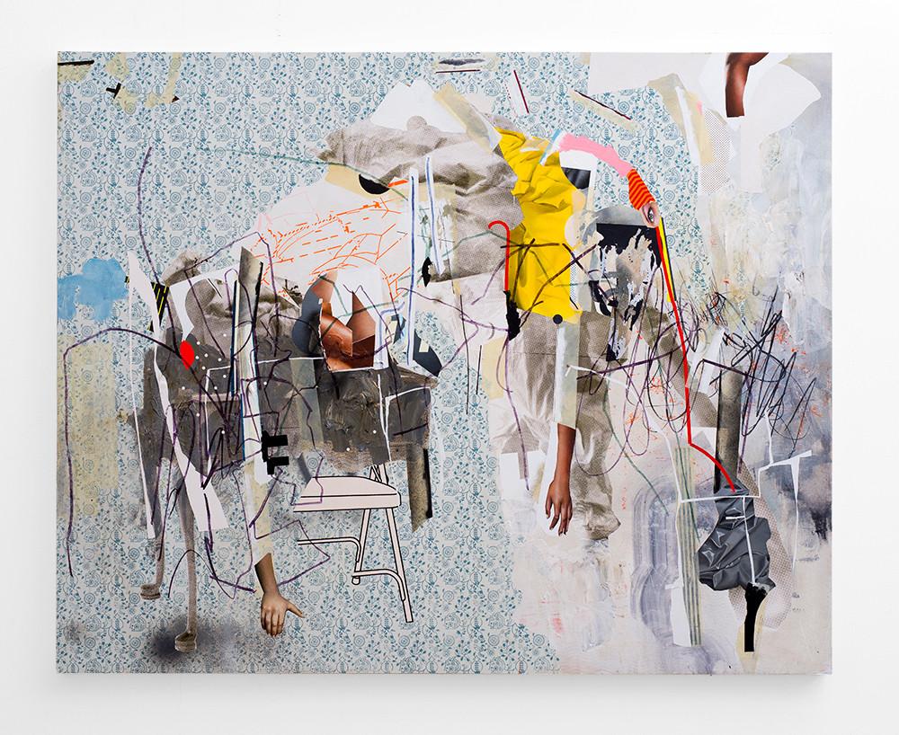 Asha Zero | uinderld | 2018 | Acrylic on Board | 131 x 164 cm
