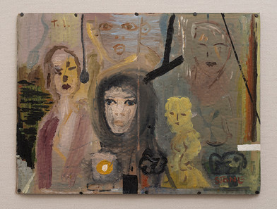 Simon Stone   T.I.   2016   Oil on Cardboard   30 x 41 cm