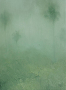 Jake Aikman   N13.200507, W88.457161   2013   Oil on Canvas   30.5 x 23 cm