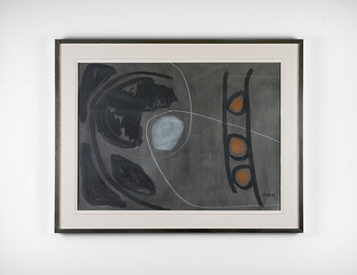 Charles Gassner   Untitled   n.d.   Painting   74 x 54 cm