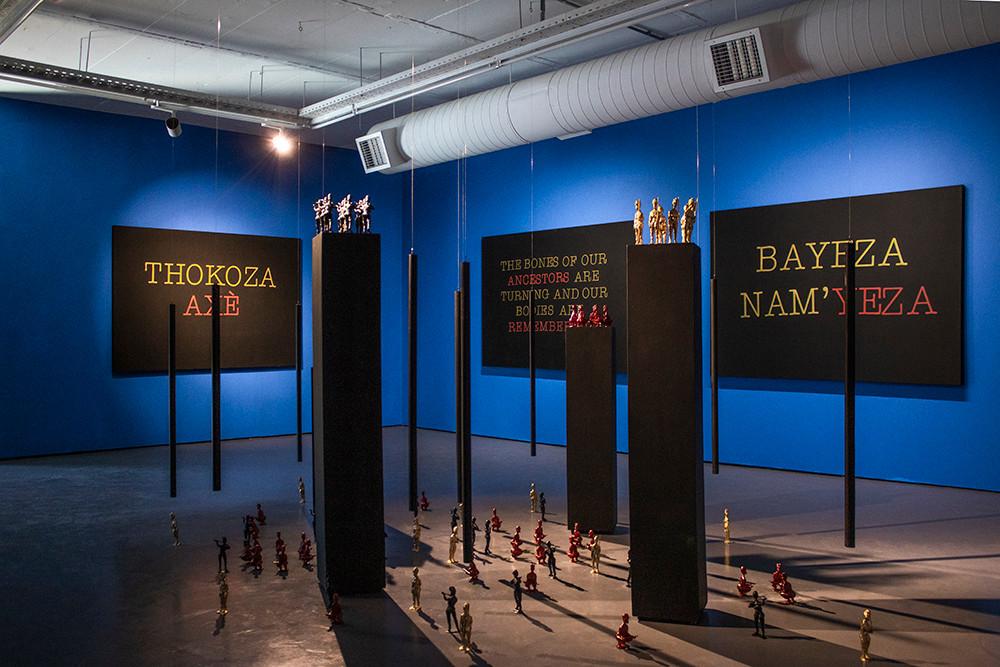 Abalozi Bayeza / Os Deuses Estão Chegando | 2019 | Installation View