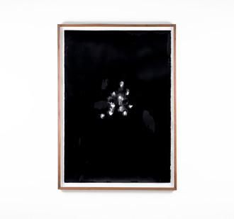 Alexandra Karakashian   Undying XLV   2018   Oil on Sized Paper   99 x 70 cm