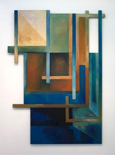 Paul Du Toit | Untitled | 1968-1972 | Mixed Media | 183.5 x 128.5 cm