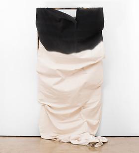Alexandra Karakashian   Adrift (collapse)   2017   Oil, Canvas, Wood   300 x 140 x 50 cm