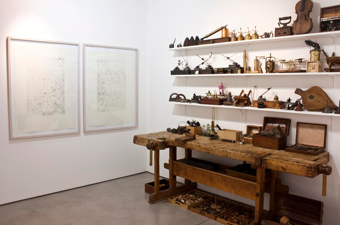 Willem Boshoff | Big Druid in His Cubicle | 2013 | Installation View