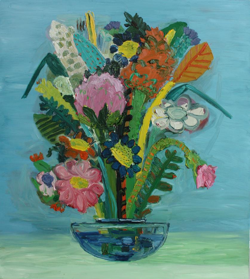 Georgina Gratrix   I Love you all the time   2011   Oil on Canvas   155 x 120 cm
