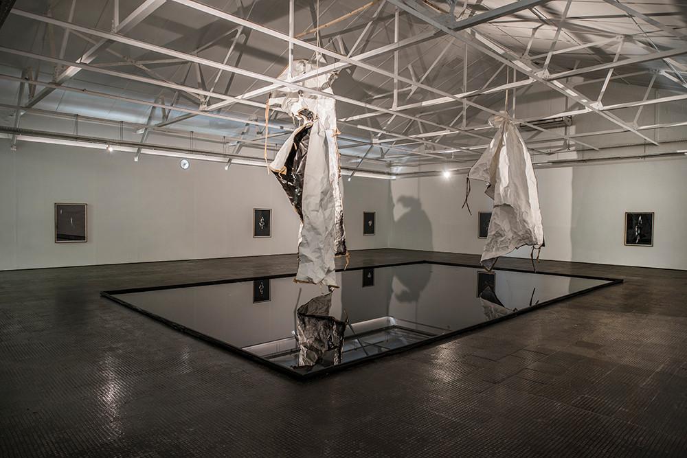 Alexandra Karakashian | here they passed | 2018 | Installation View