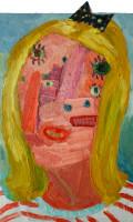 Georgina Gratrix | Bird of Paradise | 2012 | Oil on Canvas | 90.5 x 60 cm