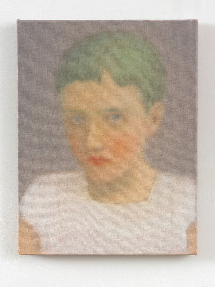 Chechu Álava | Rebel kid | 2019 | Oil on Canvas | 35 x 27 cm
