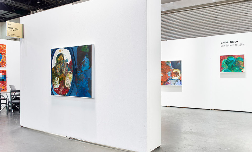 Chemu Ng'Ok | Self-Esteem for Girls | 2017 | Installation View