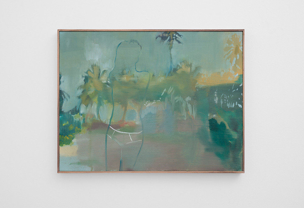 Kate Gottgens   Another Beach   2017   Oil on Canvas   69 x 90 cm