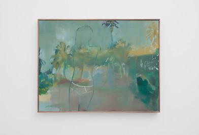 Kate Gottgens | Another Beach | 2017 | Oil on Canvas | 69 x 90 cm