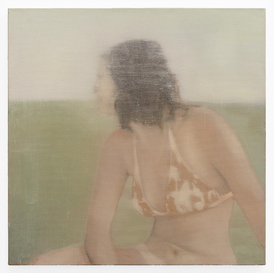 Kate Gottgens | The Distance #6 | 2019 | Oil on Canvas | 68.5 x 68.5 cm