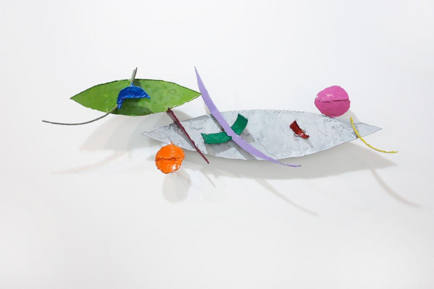 Barend de Wet | Object made to look like Art XIII | 2012 | Enamel Paint on Steel |  92 x 29 x 20 cm