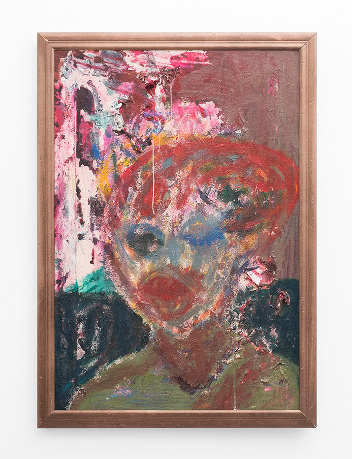 Mostaff Muchawaya   Rumbidzai   2017   Acrylic on Canvas   79.5 x 56.5 cm