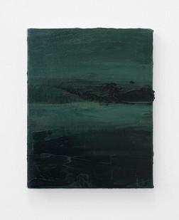 Jake Aikman | Nocturne (Dark Cloud) | 2017 | Oil on Canvas | 26 x 20.5 cm