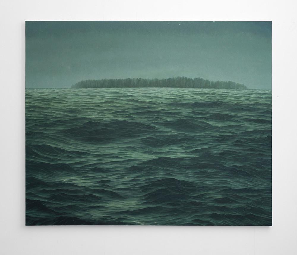 Jake Aikman | Haunt | 2016 | Oil on Canvas | 165 x 200 cm