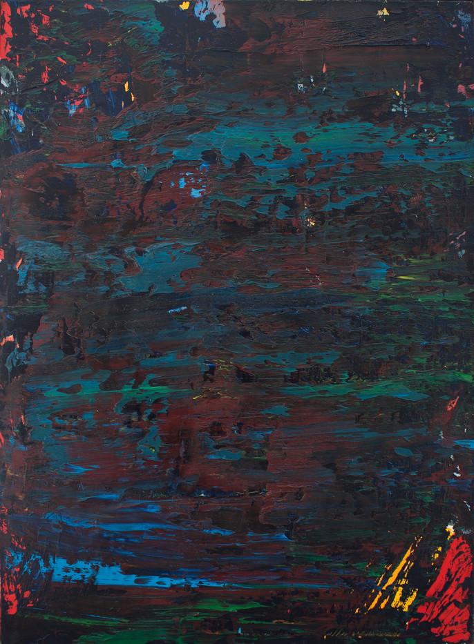 Jan-Henri Booyens | Untitled | 2012 | Oil on Canvas | 70.5 x 50 cm