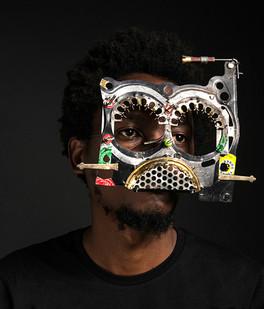 Cyrus Kabiru | Amboseli Mask | 2017 | C-type Print on Diasec Mount | 70 x 60 cm