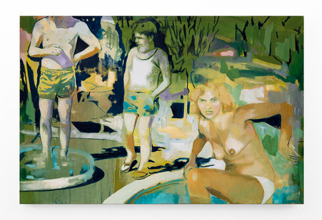 Kate Gottgens | Cul de Sac | 2018 | Oil on Canvas | 110 x 165 cm