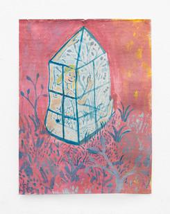Marlene Steyn   Garden Her   2018   Oil on Canvas   30 x 23 cm