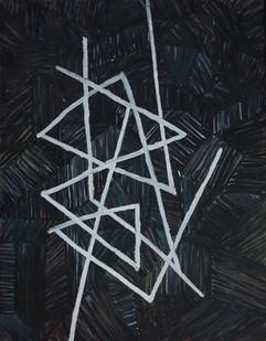 Jan-Henri Booyens | Die duiwel is de duiwel in | 2012 | Oil on Canvas | 89 x 72 cm