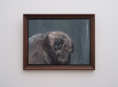 Johann Louw | Profiel Bobbejaan | 2017 | Oil on Panel | 44 x 61 cm