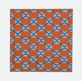 Trevor Coleman | Mesh | 1967 | Acrylic on Canvas | 76 x 76 cm