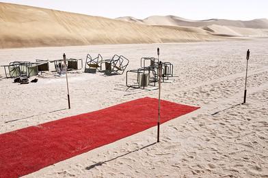 Margaret Courtney-Clarke | 'Amphitheatre', Namib Sand Sea, Dorob National Park, 26 April 2015 | 2015 | Giclée Print on Hahnemühle Photo Rag Paper | 55.5 x 84 cm | Edition of 6 + 2 AP