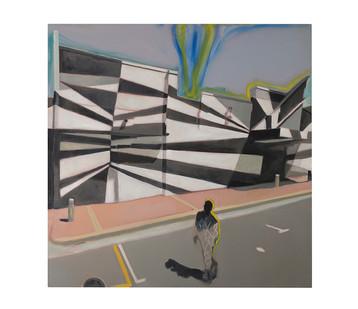 Kate Gottgens | Downward Drift | 2017 | Oil on Canvas | 150 x 150 cm