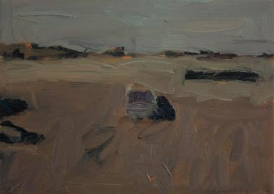 Anton Karstel | Property (Brandfort) 2 | 2014 | Oil on Canvas | 26 x 36 cm