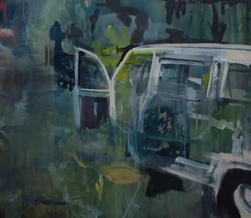 Kate Gottgens | Open Door | 2013 | Oil on Canvas | 130 x 150 cm