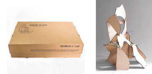 Barend De Wet | Sculpture Set | 2015 | Mixed Media | Dimensions Variable | Edition of 3 + 2 AP