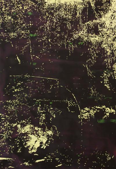Peter Eastman | Deep Chine IX | 2014 | Oil on Aluminium | 74 x 50 cm