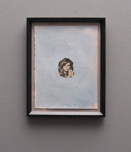 Christo Coetzee | Bride | n.d. | Mixed Media on Paper | 27 x 20 cm