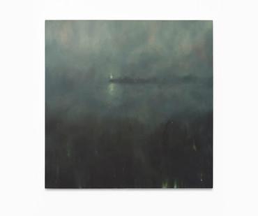 Jake Aikman | Beacon | 2017 | Oil on Canvas | 100 x 100 cm