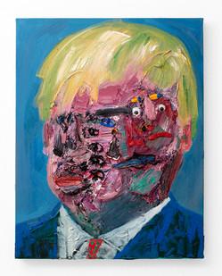 Georgina Gratrix | Boris | 2020 | Oil on Canvas | 70 x 55 cm
