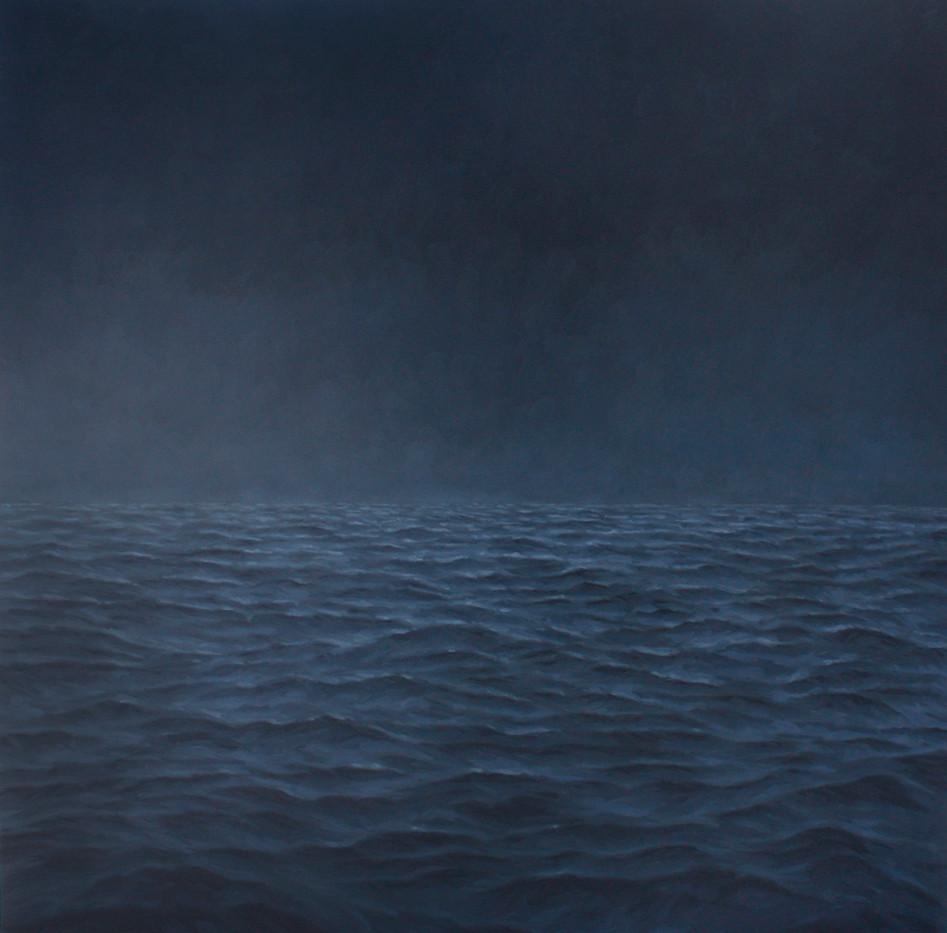 Jake Aikman   Midnight II   2012   Oil on Canvas   170 x 170 cm