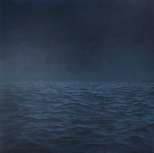 Jake Aikman | Midnight II | 2012 | Oil on Canvas | 170 x 170 cm