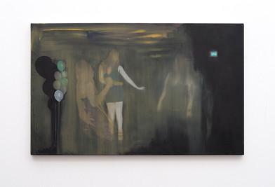 Kate Gottgens | Dance, Dance, Dance | 2016 | Oil on Canvas | 80 x 130 cm
