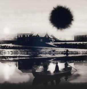 Uwe Wittwer | Boot (Boat) | 2012 | Inkjet on Paper | 127 x 110.5 cm