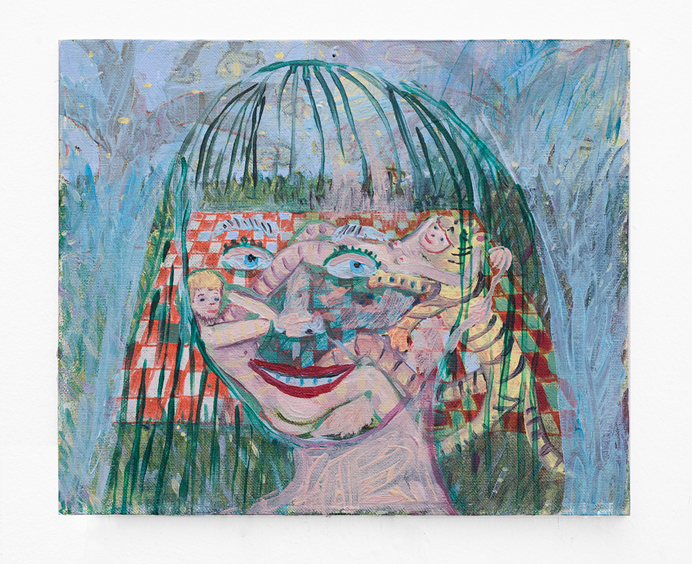 Marlene Steyn   Forgetter of the snacks   2018   Oil on Canvas   25.5 x 30.5 cm