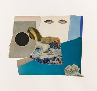 Kate Gottgens   Haiku (Moon)   2020   Collage on Paper   76 x 57 cm