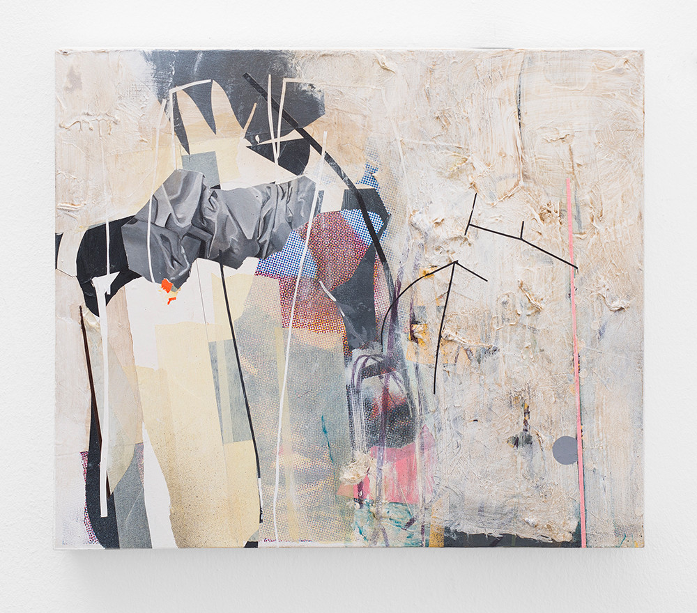 Asha Zero | bAQV | 2018 | Acrylic on Board | 36 x 42 cm
