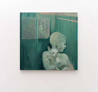 Kate Gottgens | Sleepless Nights | 2017 | Oil on Canvas | 95 x 95 cm