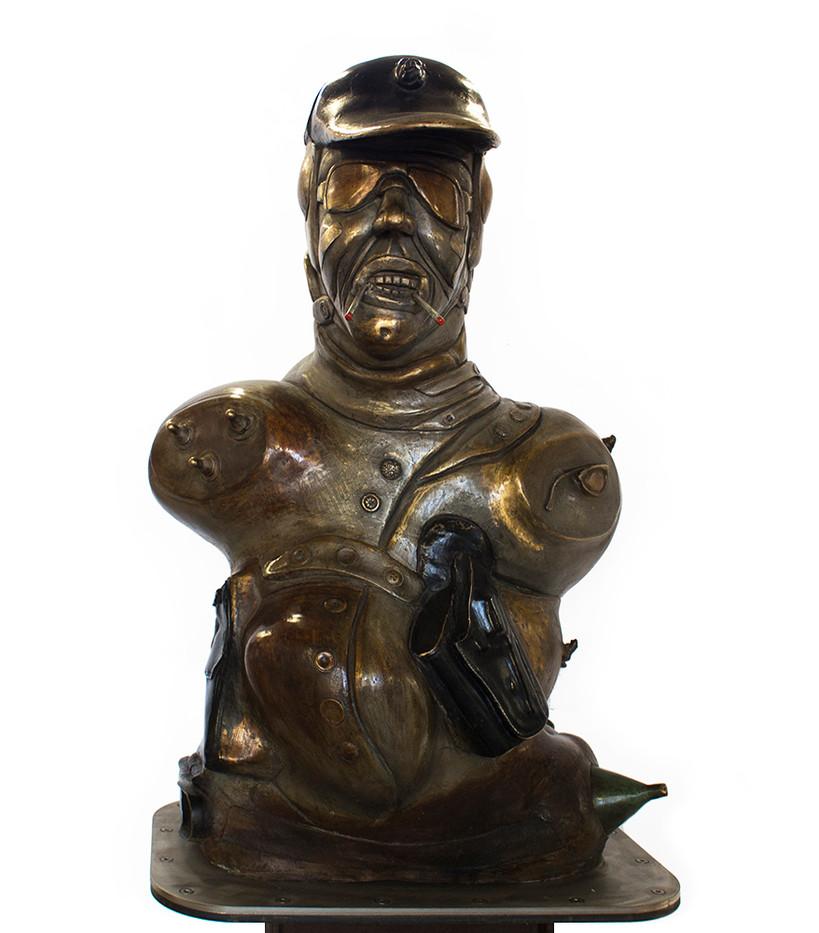 David Brown | The Hunter | 2013-2015 | Bronze | 180 cm | Edition of 3 + 2 AP