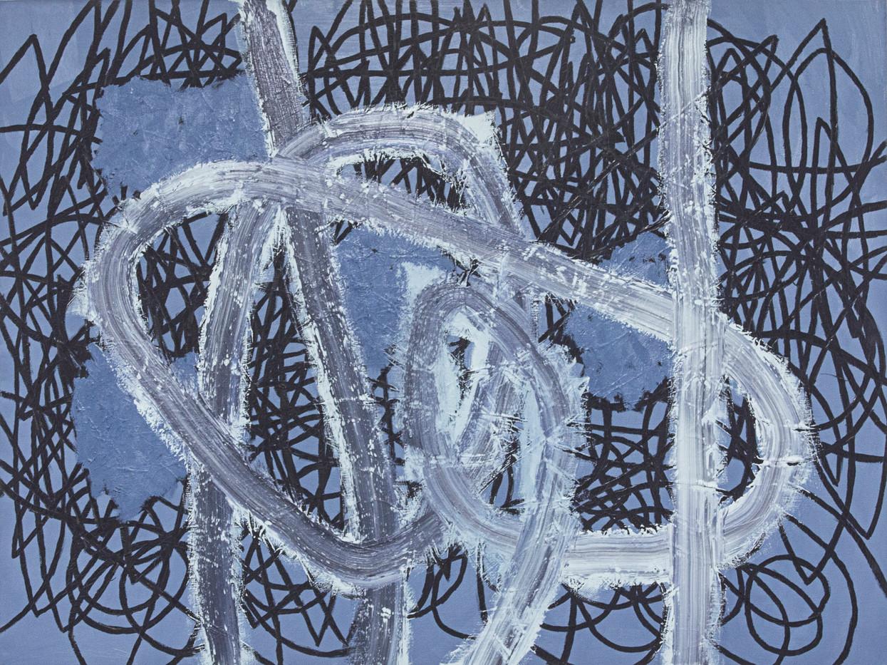 Jan-Henri Booyens | Starstuff | 2014 | Oil on Canvas | 76 x 101 cm