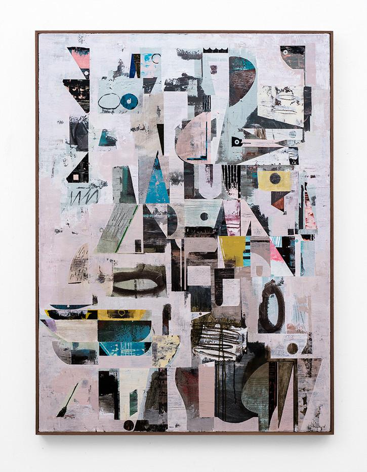 John Murray | Verweer No 2 | 2018 | Acrylic on Canvas | 120 x 90 cm